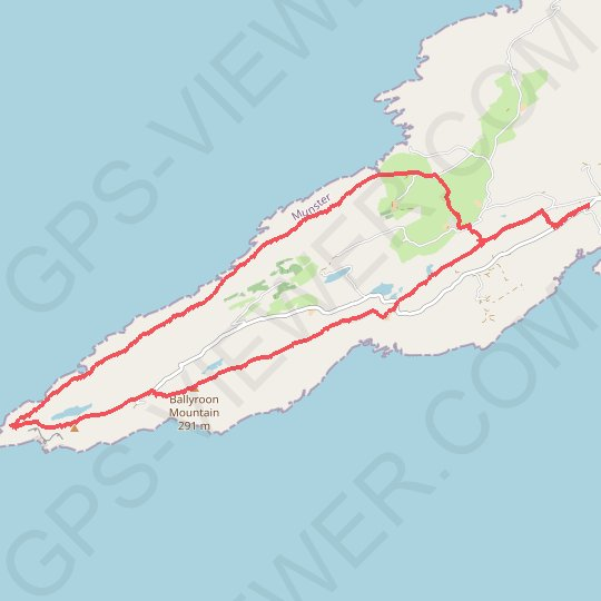 Ballyroon Mountain - Sheep's Head GPS track, route, trail